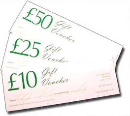 King & Co gift vouchers